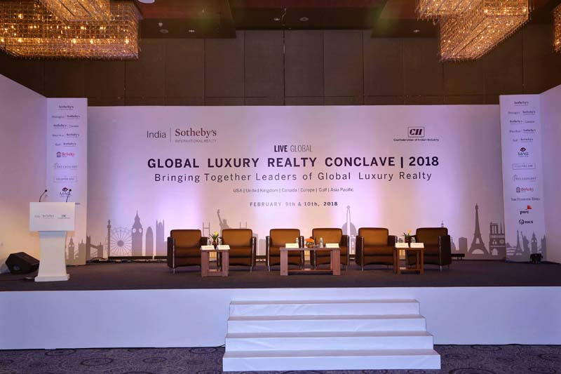 10th February   Day 2 Of The Global Luxury Realty Conclave 2017 At JW  Marriott, New Delhi